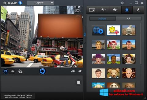 Petikan skrin CyberLink YouCam untuk Windows 8