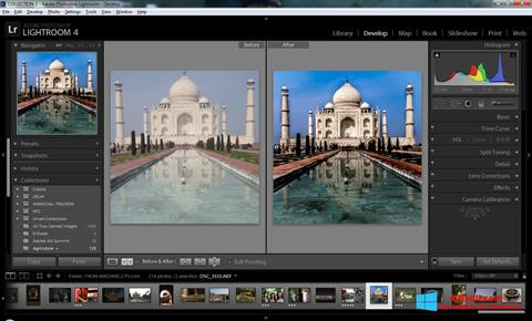 Petikan skrin Adobe Photoshop Lightroom untuk Windows 8