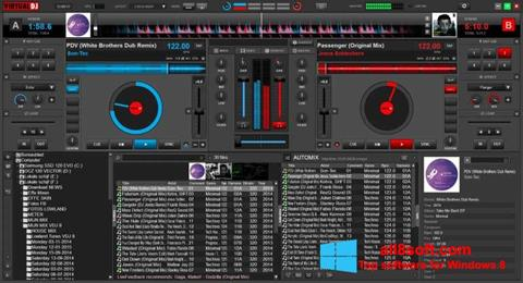 Petikan skrin Virtual DJ untuk Windows 8