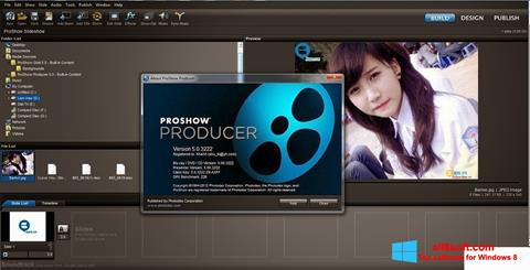 Petikan skrin ProShow Producer untuk Windows 8