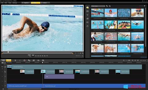 Petikan skrin Corel VideoStudio untuk Windows 8