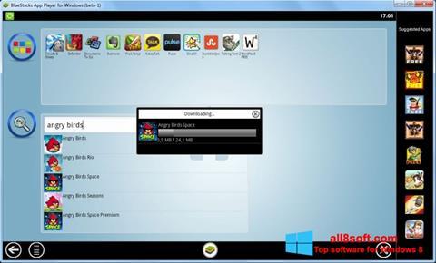 Petikan skrin BlueStacks untuk Windows 8