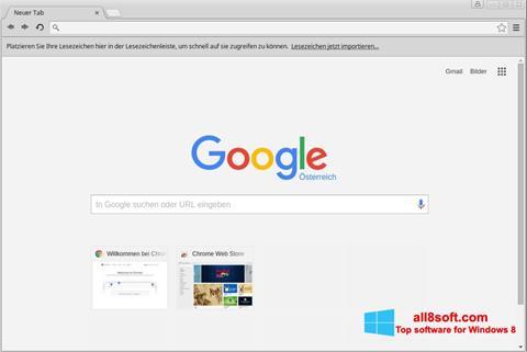 Petikan skrin Google Chrome untuk Windows 8