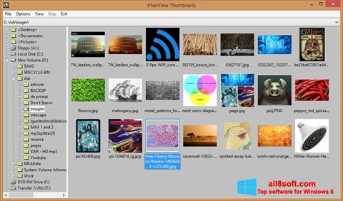 Petikan skrin IrfanView untuk Windows 8